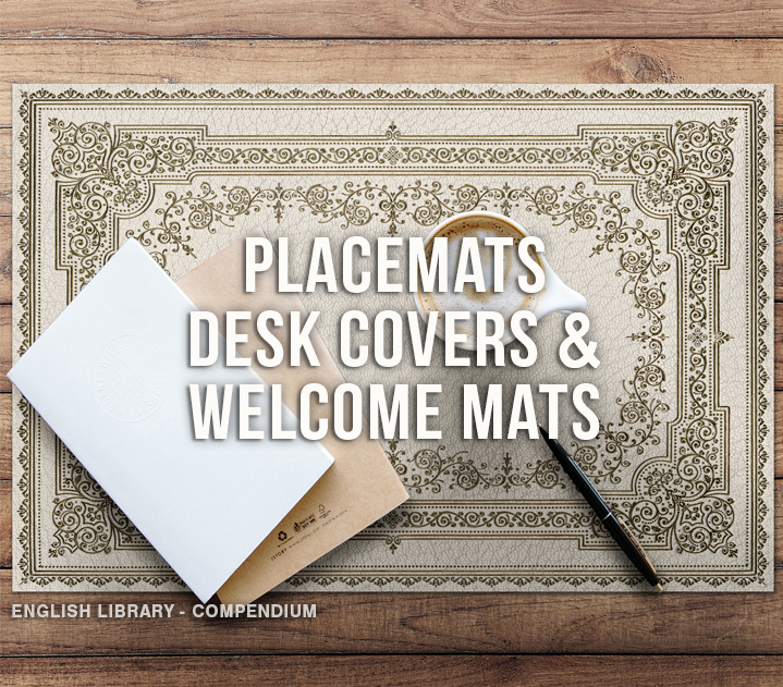 Placemats, Welcome Mats, & Desk Covers