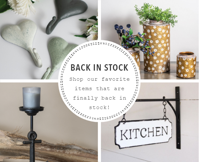back in stock wholesale home and garden products