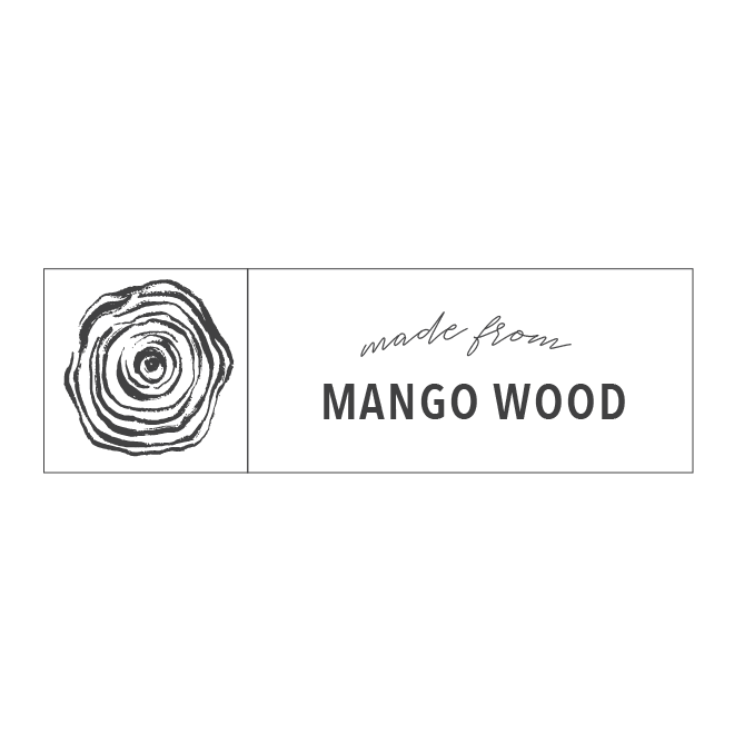 made from mango wood