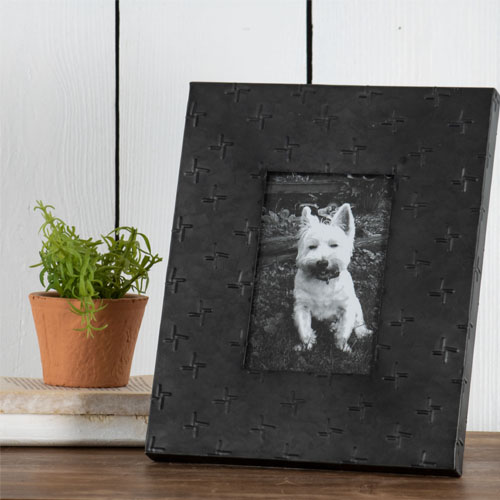 blac galvanized picture frame wholesale home decor