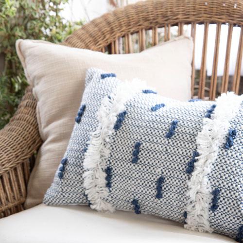cozy outdoor throw pillow