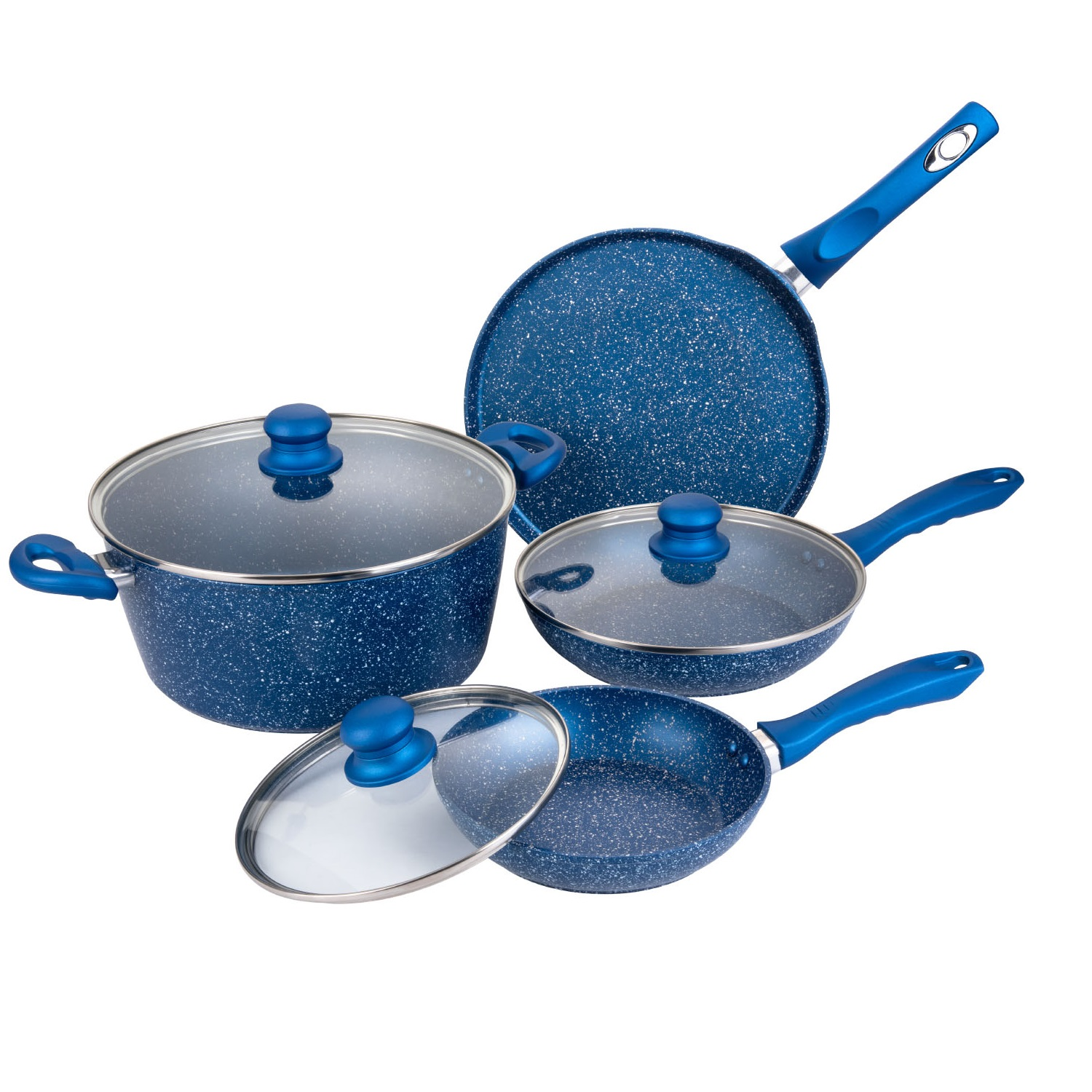 Forged Aluminum 7pc Cookware Set