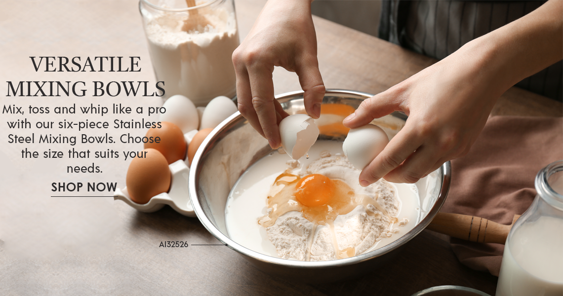 Versatile Mixing Bowls